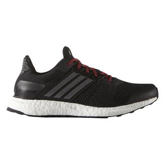 Adidas Ultra Boost ST Black / Iron Metallic / Vivid Red
