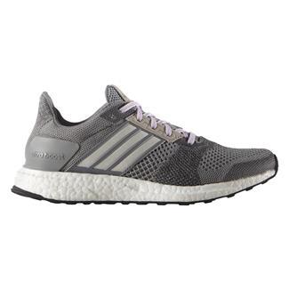 Adidas Ultra Boost ST Gray / Chalk White / Purple Glow