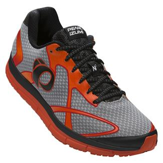 Pearl Izumi Road N2 v3 Silver / Red Orange
