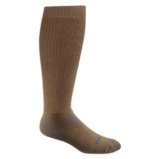 Bates Tactical Uniform Over The Calf Socks - 4 Pair Army Brown