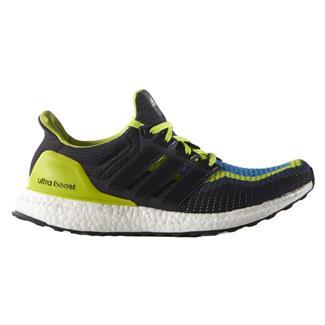 Adidas Ultra Boost Semi Solar Slime / Night Navy / Shock Blue
