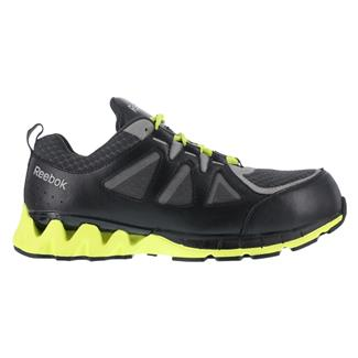 Reebok ZigKick Work CT Black / Gray / Lime Green
