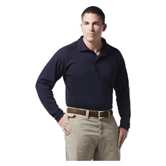 Justin FR 100% Cotton Polo Navy