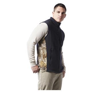 Justin FR Polartec Fleece Vest Black / Realtree Xtra