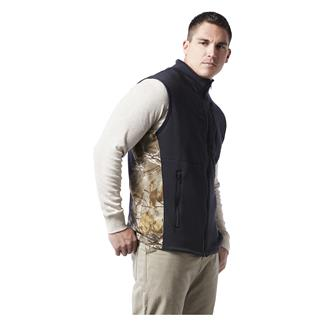 Justin FR Polartec Fleece Vest Black / Realtree Xtra