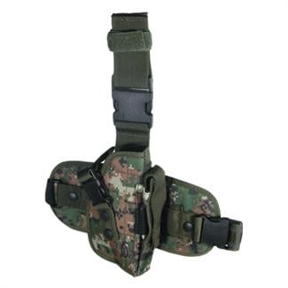 Leapers UTG Special Ops Universal Tactical Leg Holster Woodland Digital
