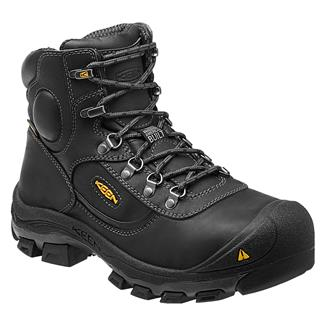 "Keen Utility 6"" Leavenworth Met Guard ST WP Black"