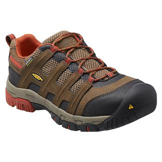 Keen Utility Omaha Low ST WP Cascade Brown / Burnt Henna