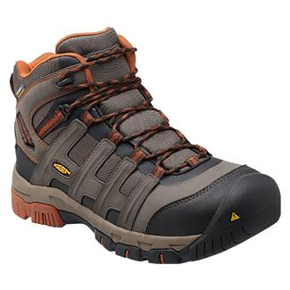 Keen Utility Omaha Mid ST WP Black Olive / Gingerbread