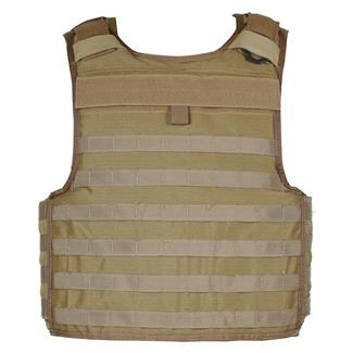 Blackhawk Non-Cutaway Cordura Lined Tactical Armor Carrier - COTS Coyote Tan