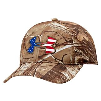 Under Armour Big Flag Logo Camo Cap Realtree AP-Xtra