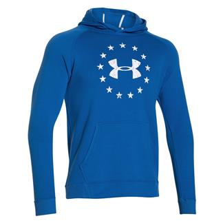 Under Armour ColdGear Freedom Hoodie Ultra Blue / White