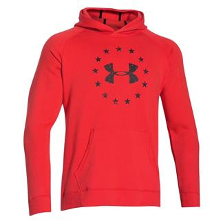 Under Armour ColdGear Freedom Hoodie Rocket Red / Black