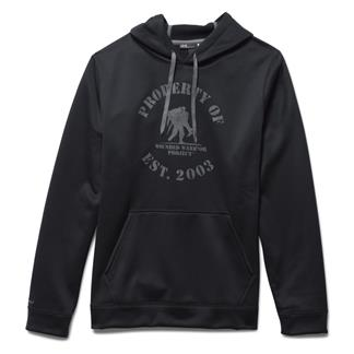 Under Armour ColdGear Property of WWP Hoodie Black / Graphite