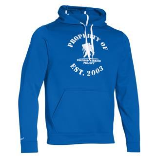 Under Armour ColdGear Property of WWP Hoodie Ultra Blue / White