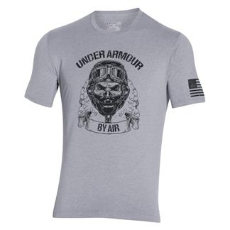 Under Armour Freedom Air Force T-Shirt True Gray Heather / Black