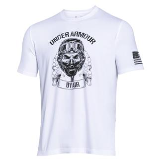 Under Armour Freedom Air Force T-Shirt White / Black