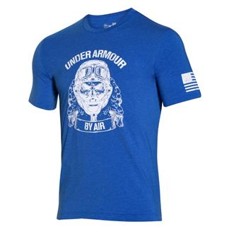 Under Armour Freedom Air Force T-Shirt Ultra Blue / White