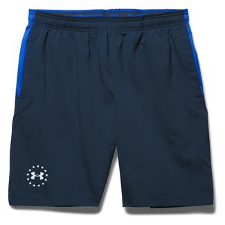 Under Armour Freedom ArmourVent Shorts Academy / White