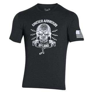 Under Armour Freedom Army T-Shirt Black / White