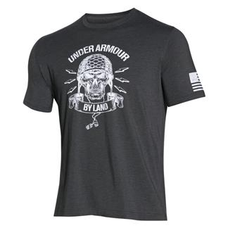 Under Armour Freedom Army T-Shirt Carbon Heather / White