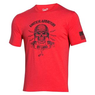 Under Armour Freedom Army T-Shirt Rocket Red / Black