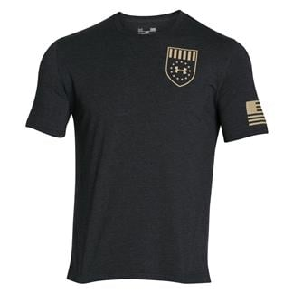 Under Armour Freedom Eagle T-Shirt Black / Enamel