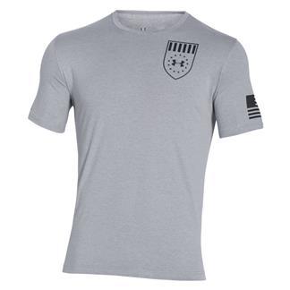 Under Armour Freedom Eagle T-Shirt True Gray Heather / Black