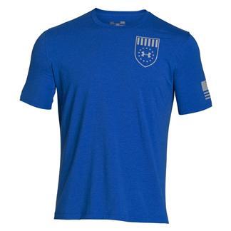 Under Armour Freedom Eagle T-Shirt Ultra Blue / Amalgam Gray