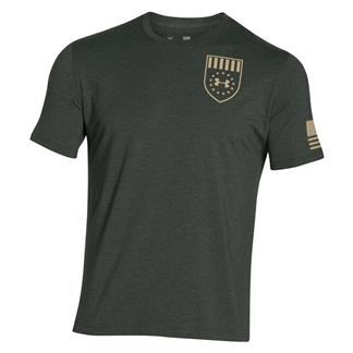 Under Armour Freedom Eagle T-Shirt Combat Green / Enamel