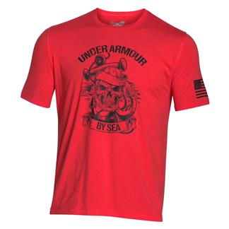 Under Armour Freedom Navy T-Shirt Rocket Red / Black