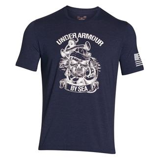 Under Armour Freedom Navy T-Shirt Blackout Navy / Gold
