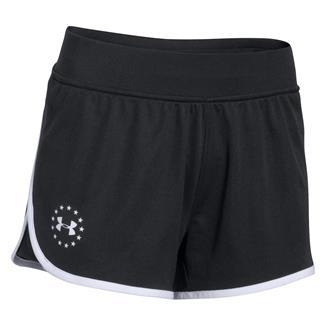 Under Armour Freedom Shorts Black / White
