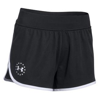Under Armour Freedom Shorts Black / White