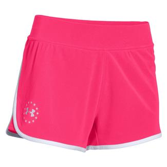 Under Armour Freedom Shorts Harmony Red / White