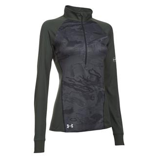 Under Armour Freedom Tech 1/2 Zip Jacket Black / Combat Green / Glacier Gray