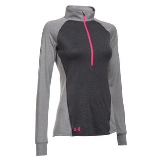 Under Armour Freedom Tech 1/2 Zip Jacket Carbon Heather / True Gray Heather / Harmony Red