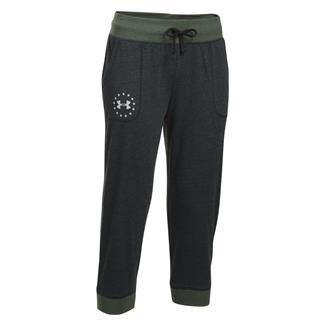 Under Armour Freedom Tri-blend Capri Pants Black / Glacier Gray