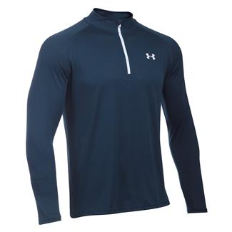 Under Armour HeatGear Freedom Tech 1/4 Zip Jacket Academy / White
