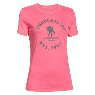 Under Armour HeatGear Property of WWP T-Shirt Harmony Red / Navy Seal