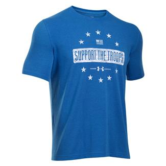 Under Armour Support the Troops T-Shirt Ultra Blue / Black