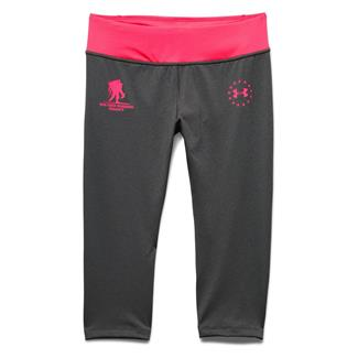 Under Armour WWP Capri Pants Carbon Heather / Harmony Red