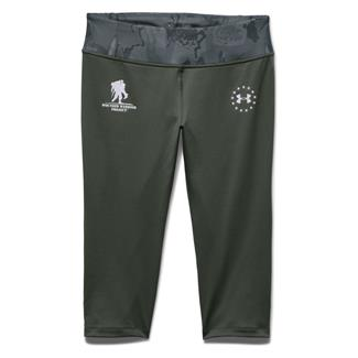Under Armour WWP Capri Pants Combat Green / Black