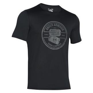Under Armour WWP Dog Tag Tech T-Shirt Black / Graphite