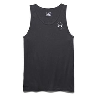 Under Armour WWP Freedom Flag Tri-blend Tank Carbon Heather / White