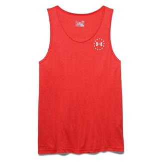 Under Armour WWP Freedom Flag Tri-blend Tank Rocket Red / White