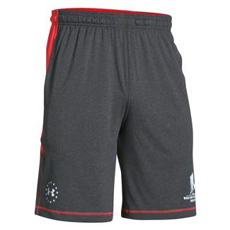 Under Armour WWP Raid Shorts Carbon Heather / White
