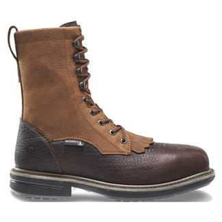 "Wolverine 8"" Roscoe Lacer WP Brown"