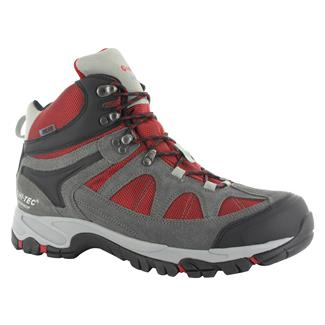 Hi-Tec Altitude Lite i WP Charcoal / Cool Gray / Red
