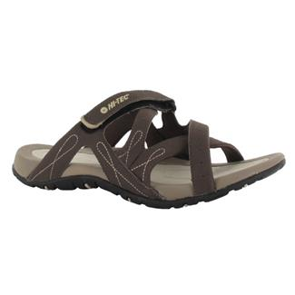Hi-Tec Waimea Slide Chocolate / Light Taupe / Sand